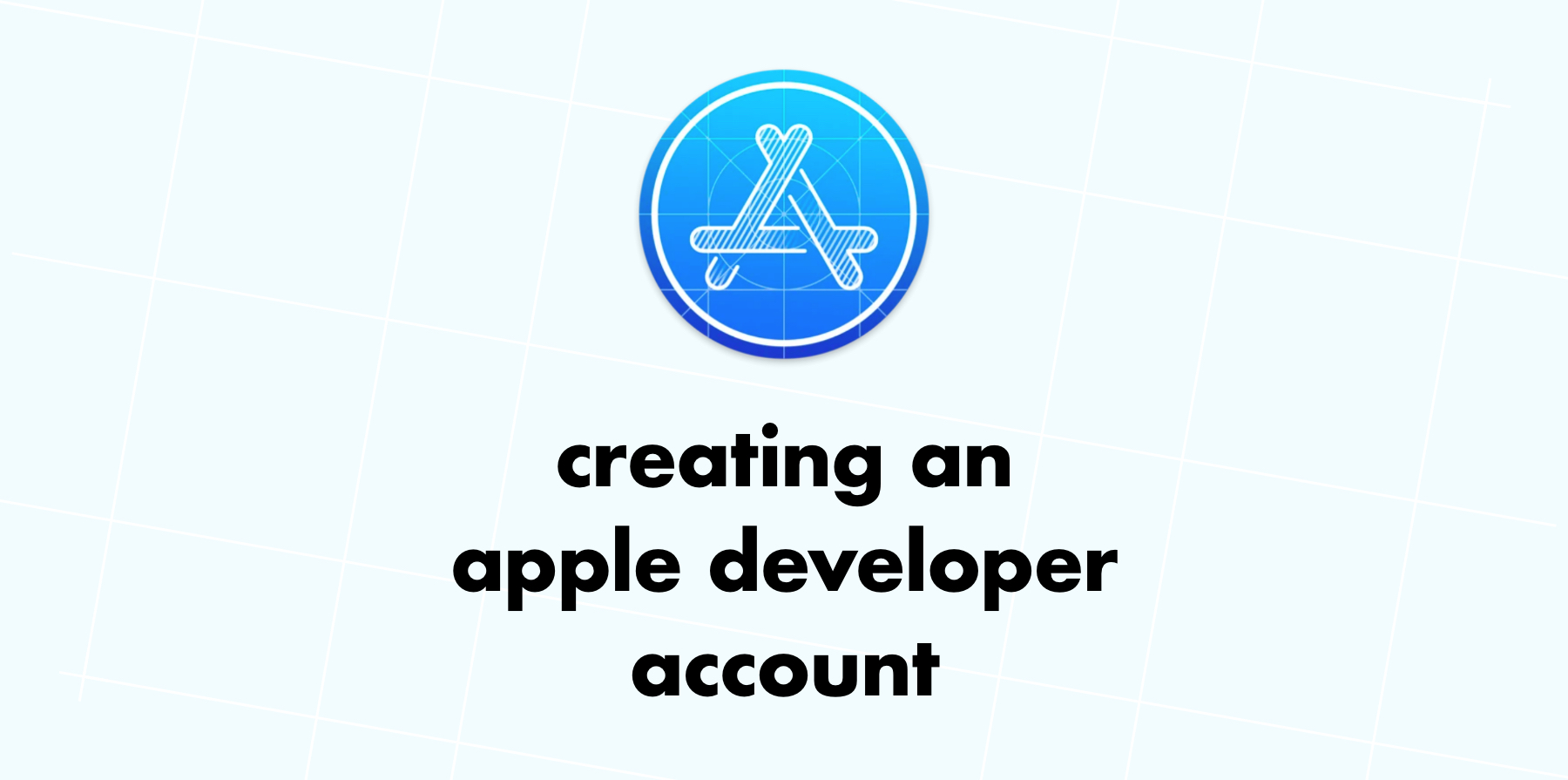 Creating an Apple Developer Account Image