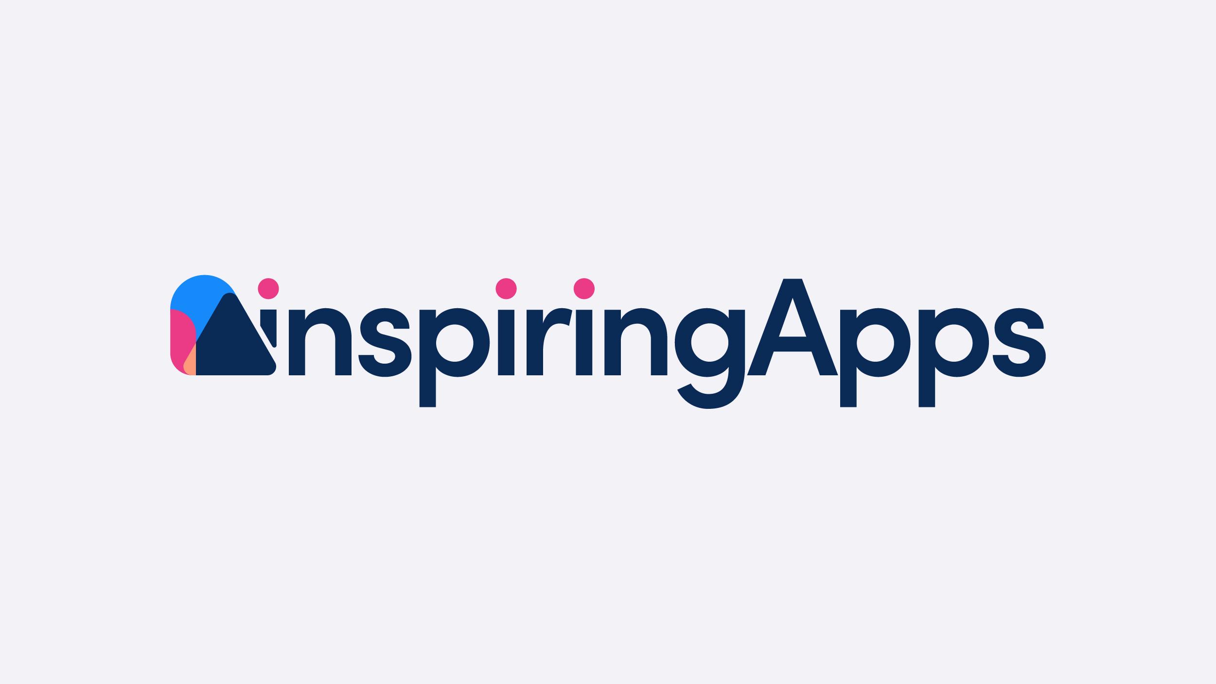 inspiring apps rebrand story